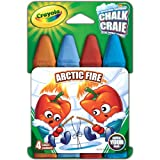 Crayola Washable Sidewalk Chalk 4/Pkg-Arctic Fire