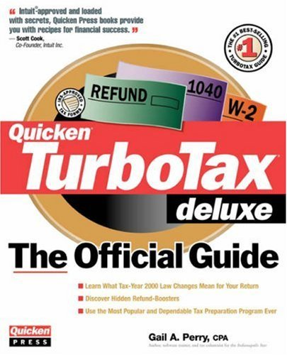 turbo-tax-deluxe-the-official-guide-2000-by-gail-a-perry-2000-01-01