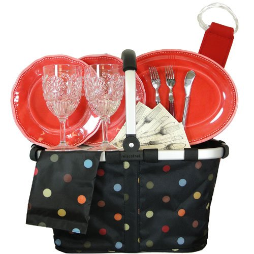 PicNic Gift Basket with Reisenthel Original Carry Bag and More
