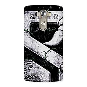 Score Print Back Case Cover for LG G3