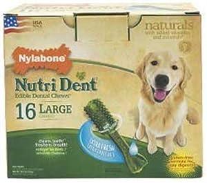 Nylabone Nutri Dent Extra Fresh, 16 Count Pantry Pack
