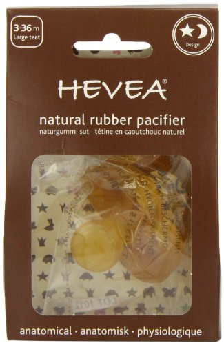 Hevea Star and Moon, Large Teat, 3 - 36 Months - 1