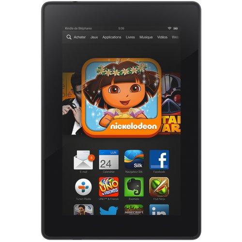 Kindle Fire HD 7″ (17 cm), écran HD, Wi-Fi, 8 Go – avec offres spéciales (Précédente Génération – 3ème)