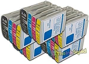 20 Cartuchos de Tinta Alta Capacidad HP 88 XL Compatibles con Officejet/Officejet Pro para la Impresora K5300