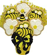 Delight Expressions™ Just Beecause Cookie Boquet - A Gift Basket Idea!