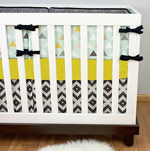 Modified Tot Crib Bedding, Tribal