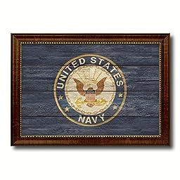 US Navy Seal Military Texture Flag Art Gifts Office Wall Home Decor Bedroom Livingroom Masteroom Gameroom ManCave Bar Housewarming 19''x27''