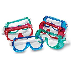 Learning Resources Colored Safety Goggles (pack of 6)