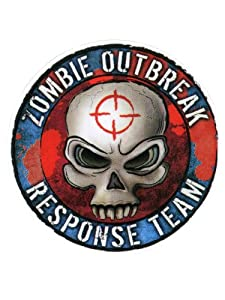 """Frank Wiedemann - Zombie Outbreak Response Team Sticker Decal - 4.5"""" Die-Cut - Weather Resistant, Long Lasting for Any Surface"""