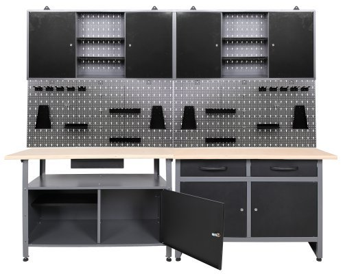 werkzeugwand lochwand preisvergleiche erfahrungsberichte und kauf bei nextag. Black Bedroom Furniture Sets. Home Design Ideas