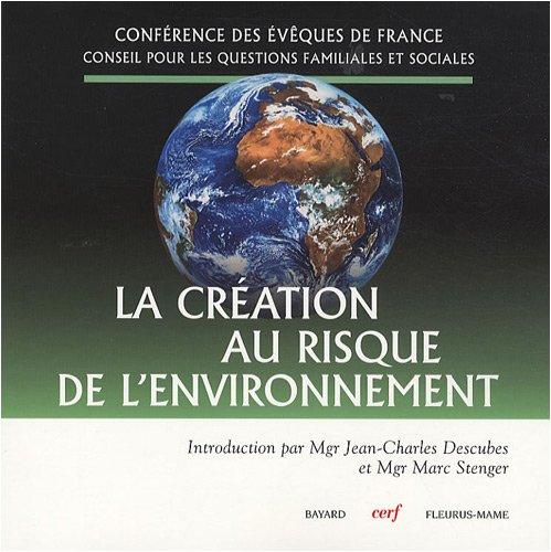 La création au risque de l'environnement