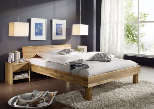 SAM-Massiv-Holzbett-Campino-in-Wildeiche-100-x-200-cm-Bett-mit-geschlossenem-Kopfteil-natrliche-Maserung-massive-widerstandsfhige-Oberflche-in-zeitlosem-Naturton
