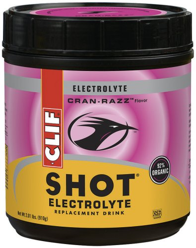 Clif Shot Electrolyte Replacement Drink, Cran Razz, 2.01 Pound