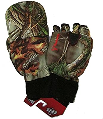 Men's Hunting Oaktree Camo Extreme Cold Pop-Top Glove
