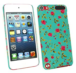 Emartbuy® Apple Ipod Touch 5 ( 5th Generation ) Rose Garden Clip On Protection Case/Cover/Skin