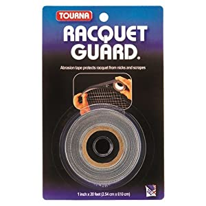 Buy Tourna Racquet Guard Tape Tennis Racket Head Protection-20 Foot Roll by Unique Sports