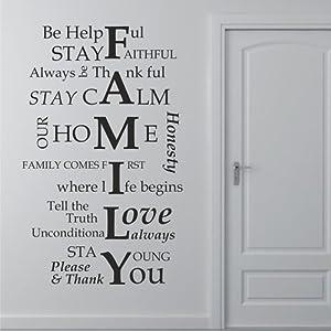 39 4 x 23 6 grande muro di famiglia arredamento famiglia for Famiglia parete