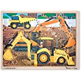 Melissa & Doug Construction Jigsaw (24 Pieces)