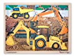 Melissa & Doug Construction Jigsaw (2...