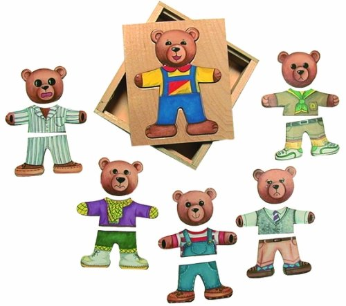 Ernest Moody Bear Puzzle - 1