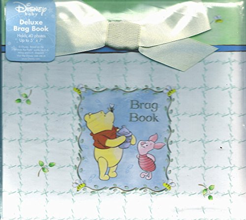 Winnie the Pooh Deluxe Brag Book ~ Holds 40 Photos - 1