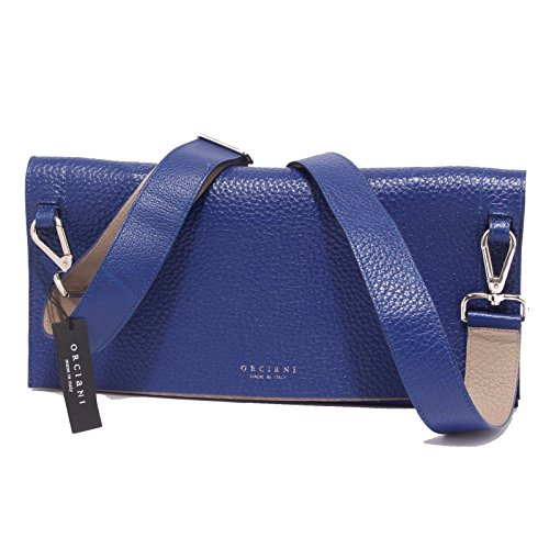 3534Q borsa donna ORCIANI blu hand made bag woman [Taglia unica]