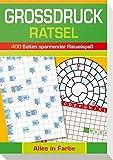 Großdruck-Rätsel: 400 Seiten Spannender Rätselspaß - Alles in Farbe