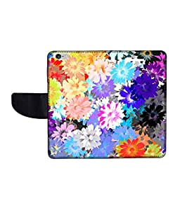 KolorEdge Printed Flip Cover For Apple IPhone 6 -Multicolor (47KeMLogo11317IPhone6)