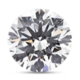 6.07 Carat Very Good Cut Natural Round H-VS2 EGL Certified Loose Diamond