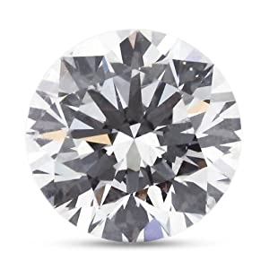 3.00 Carat Good Cut Natural Round F-VS2 GIA Certified Loose Diamond