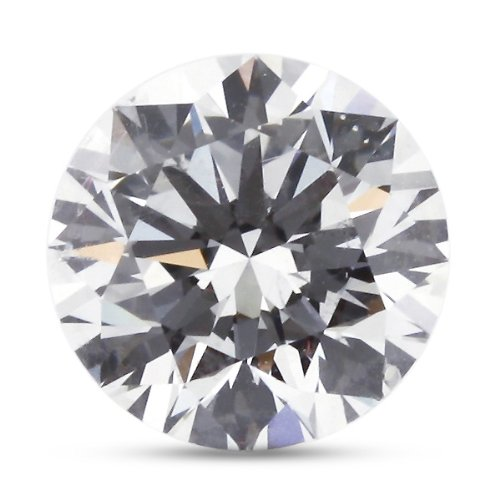 5.45 Carat Ideal Cut Natural Round F-VVS2 AGI Certified Loose Diamond