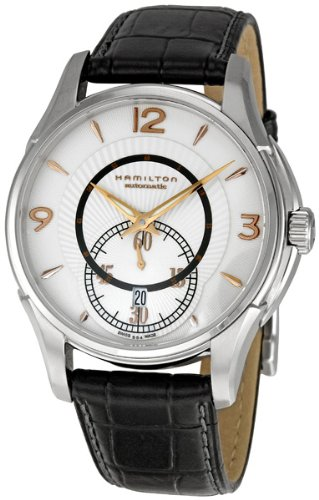 Hamilton Men's H32555755 Jazzmaster Viewmatic Silver Small Second Subdial Watch