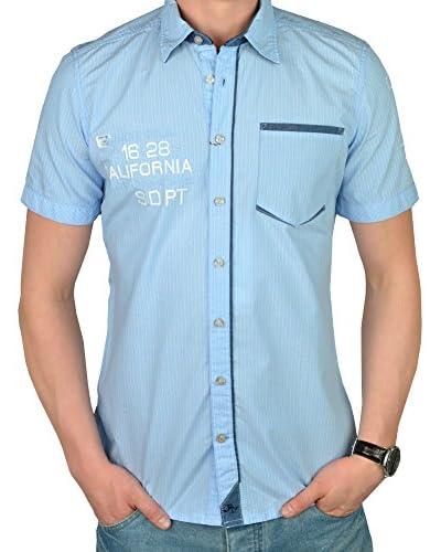 Tom Tailor Camisa Hombre Azul