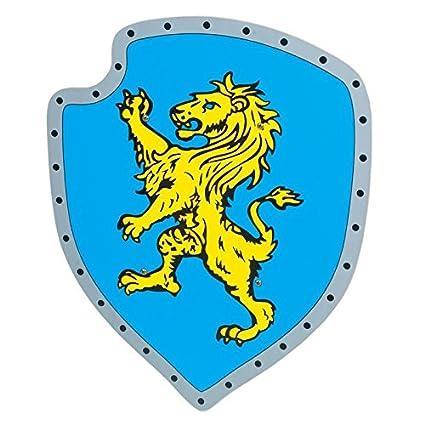Legler - 2020921 - Accessoire Pour Déguisement - Arme - Bouclier - Lion Jaune