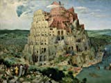 High quality print, poster of The Tower of Babel, c.1563 By Pieter Bruegel the Elder (37 x 28 cm)