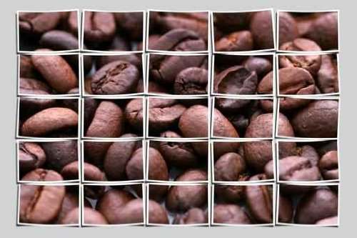 Collage coffee beans - 42