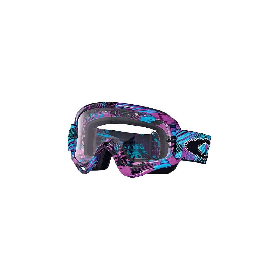141afc0fdb Oakley MX O Frame Digi Slash Adult Dirt Off Road Dirt Bike Motorcycle  Goggles Eyewear