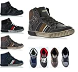 Dream Pairs P4050 Boy's Casual High Top Sneakers Shoes (Toddler/Little Kid/Big Kid) Thumbnail Image