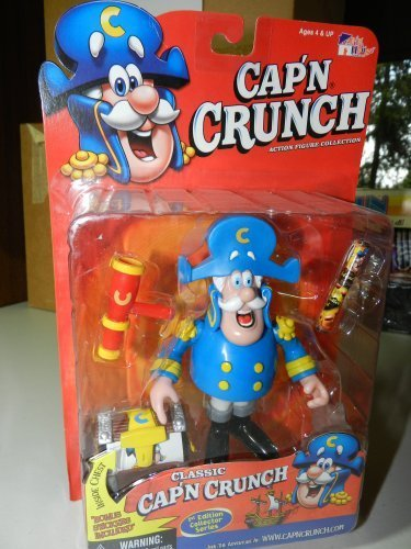 classic-capn-crunch-5-action-figure-1st-edition-collector-series-by-funhouse-company