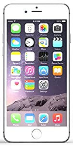 """Apple iPhone 6 Plus 128GB 5.5"""" - on EE T-MOBILE ORANGE Network - Silver by Apple Computer"""