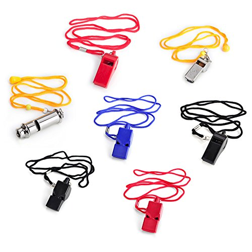 Gogo Whistle With Lanyard Sport Coach Whistle Safety Whistle