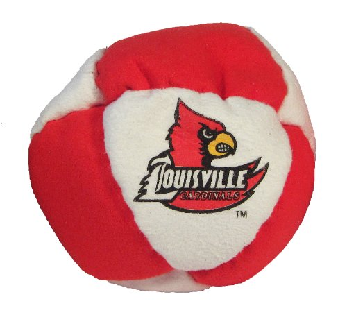 Hacky Sack - College Logo 8 Panelled Louisville Design - 1