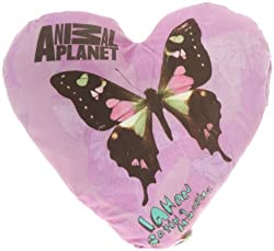Animal Planet Animal Planet Heart Shaped Cushion-Butterfly