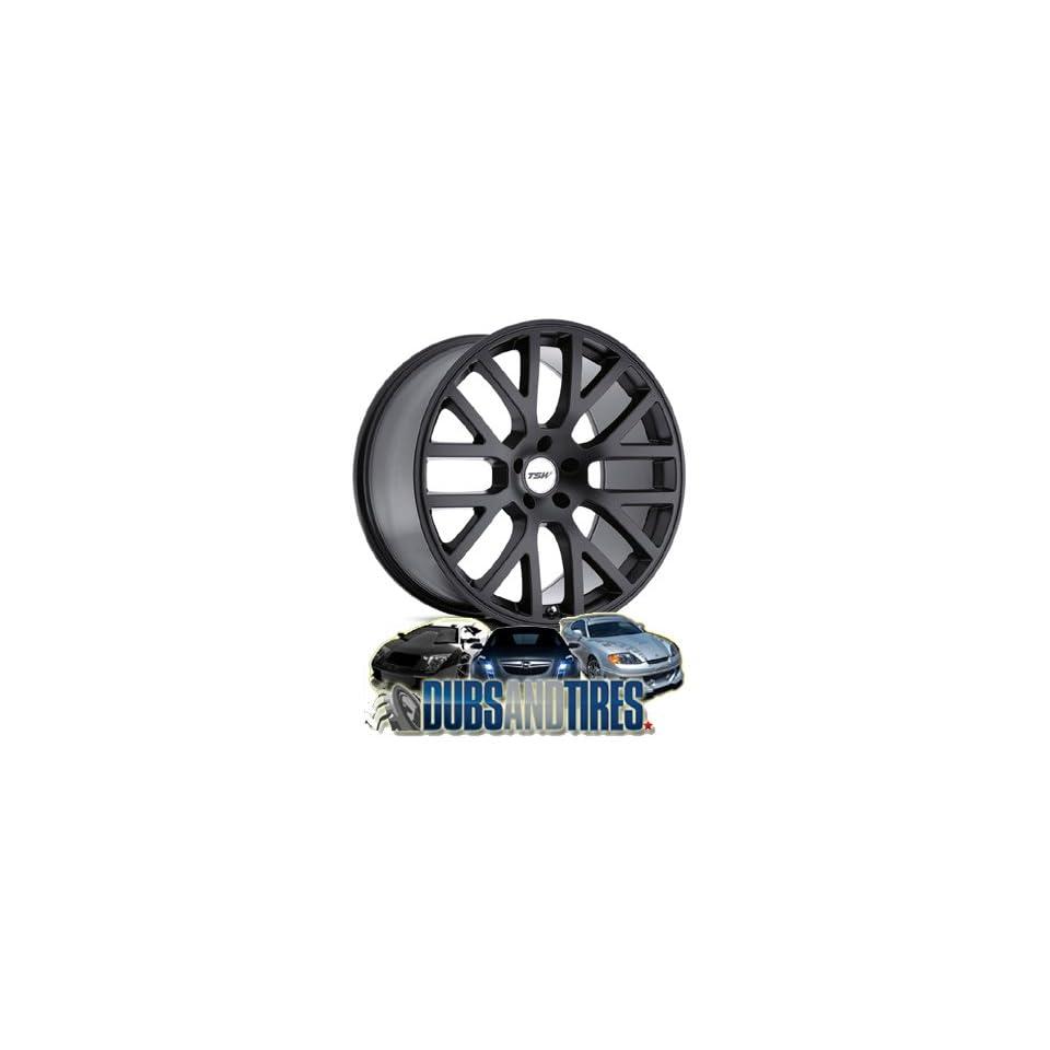 17 Inch 17x7 TSW wheels DONNINGTON Matte Black wheels rims