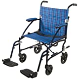 Drive Medical Fly Lite Ultra Lightweight Aluminum Transport Chair