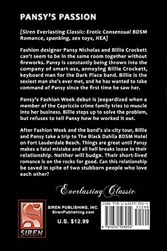 Pansy's Passion [The Black Dahlia Hotel 5] (Siren Publishing Everlasting Classic)