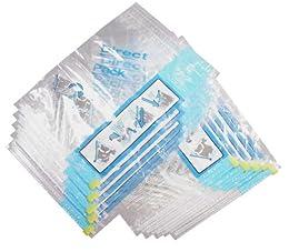 衣類圧縮袋10枚組 D-10