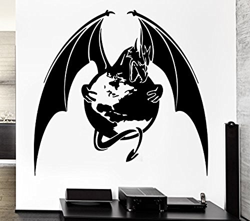 GGWW Wall Decal Dragon Mythology Movie Fantasy Monster Cool Interior (Z2705)