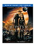 Jupiter Ascending (Blu-ray 3D + Blu-ray + DVD + Digital HD)
