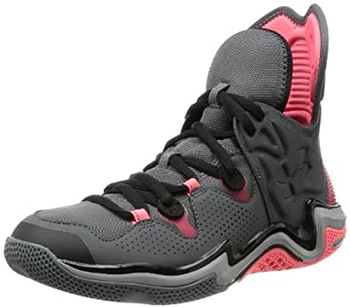 Under Armour Men's Micro G® Charge Volt Basketball Shoes 9.5 Charcoal